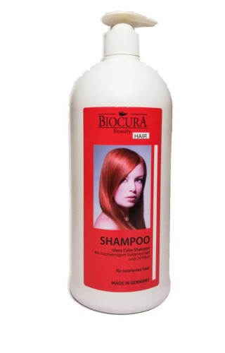 Biocura beauty glanz color šampūnas 1000ml