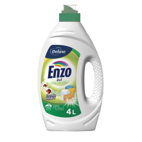 Deluxe Enzo 2in1 Color skalbimo gelis 4l