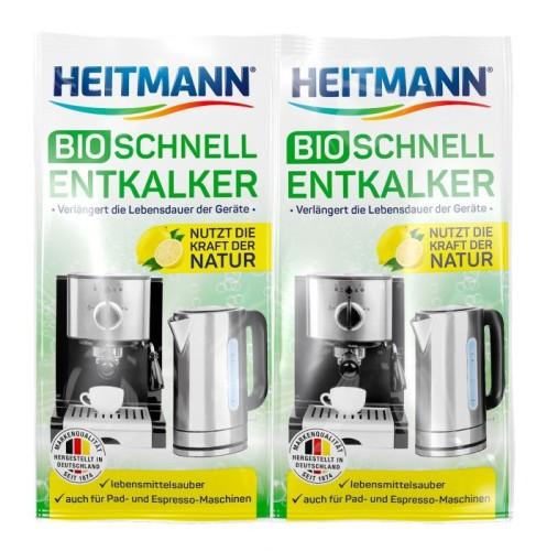 HEITMANN Bio kavos aparatų nukalkintojas 2 x 25 g