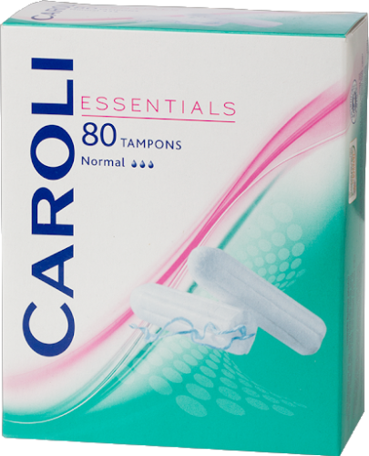 Caroli Essentials tamponai Normal, 80 vnt
