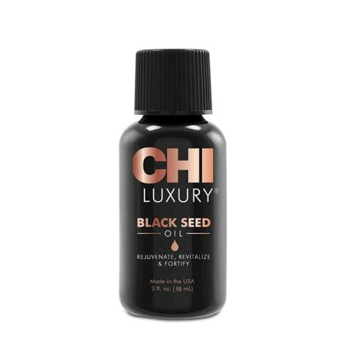 CHI Luxury Black Seed plaukų aliejus, 15ml