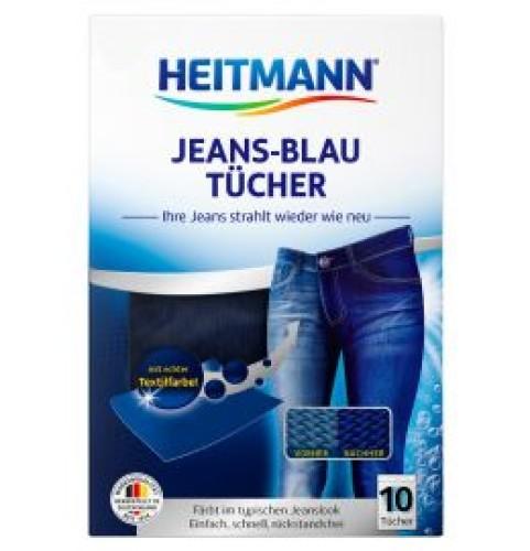 HEITMANN servetėlės mėlynos spalvos atnaujinimui, paryškinimui 10vnt