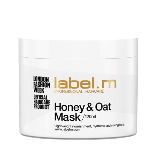 Label.m Honey & Oat plaukų kaukė intensyviai priežiūrai 120ml