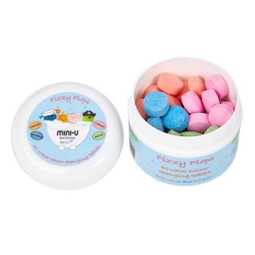 Mini-U spalvotos vandenyje tirpstančios tabletės 40vnt