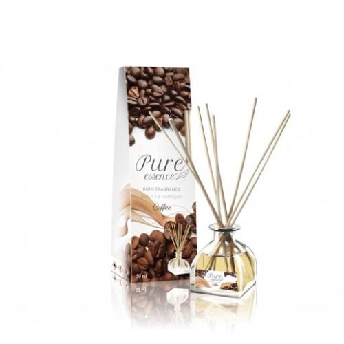Pure Coffee dekoratyvinis oro gaiviklis-namų, patalpų kvapas su lazdelėmis 50ml