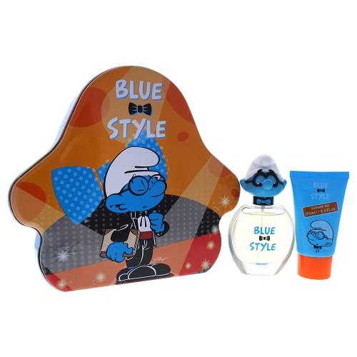 The Smurfs Blue Style Brainy kūno priežiūros rinkinys 50ml+75ml