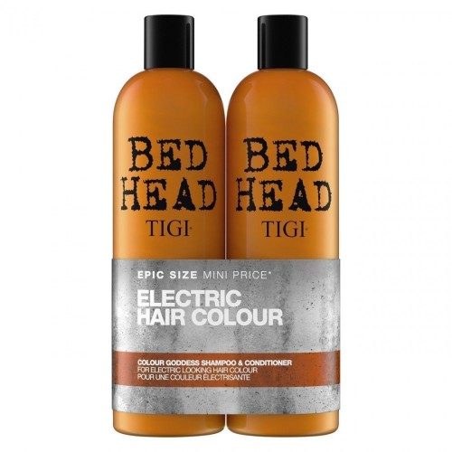 TIGI Bed Head Colour Goddnes Oil Infused Tween dažytų plaukų rinkinys 750ml+750ml